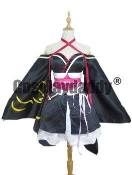 Unbreakable Machine Doll Yaya Girls Halloween Lolita Kimono Cosplay Costume
