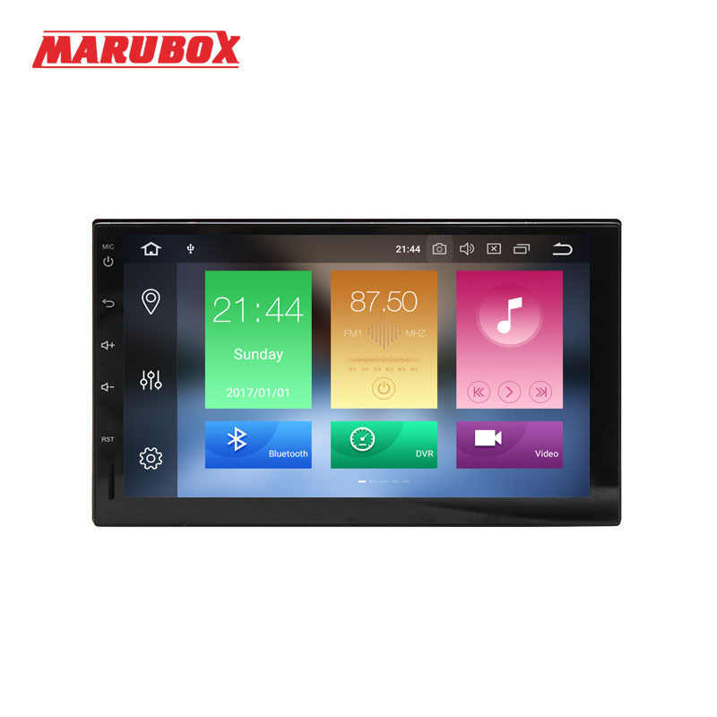 Marubox 7A705PX5, Car Multimedia Player, Universale 2Din, Android 8.0, Octa Core, 1024*600 IPS, 4G di RAM 32G ROM, GPS, Radio 6686, Bluetooth