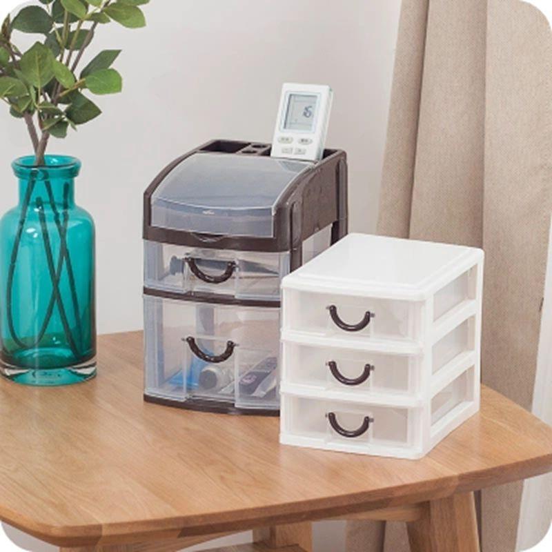 Office Desktop Storage Box Drawer Type Cosmetic Stationery