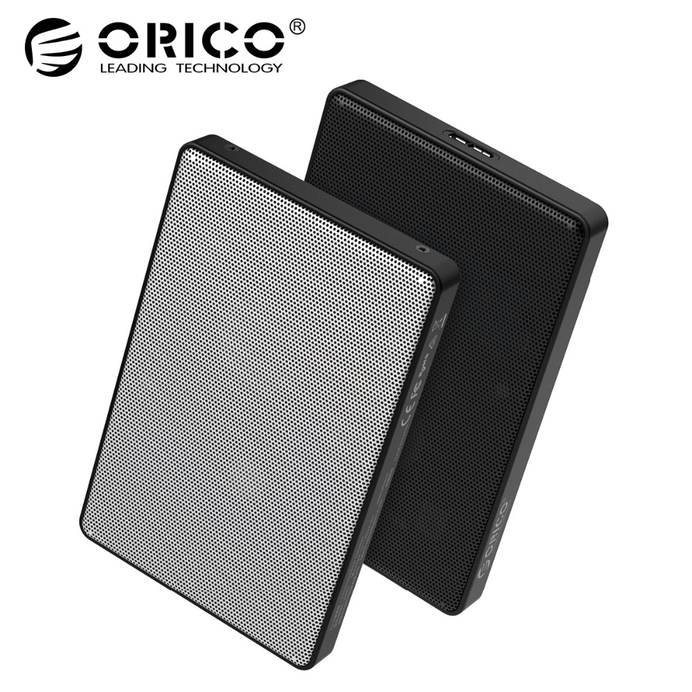 ORICO 2,5 pulgadas caso HDD SATA a USB 3,0 HDD SSD caso para Samsung Seagate SSD 2 TB 4 tb disco Duro caja externa HDD