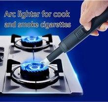 Интеллектуальные Электрические длинные USB дуги Кухня ignitiog ветрозащитный зажигалка для Свечи и фейерверк для Барбекю открытый Применение плазмы