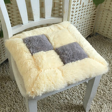купить 5 Colors Chair Cushion Mat Pad Cushions Coussin Decoration For Home Cojines Decorativos 45x45cm Square Sofa Chair Seat Cushion по цене 791.98 рублей