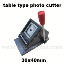 30*40mm área de trabalho manual de foto-cortador de morrer