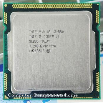 Procesador Original INTEL i3 550 lga 1156 (caché de 3,2 GHz/4 MB) I3-550 de escritorio CPU garantía de 1 año