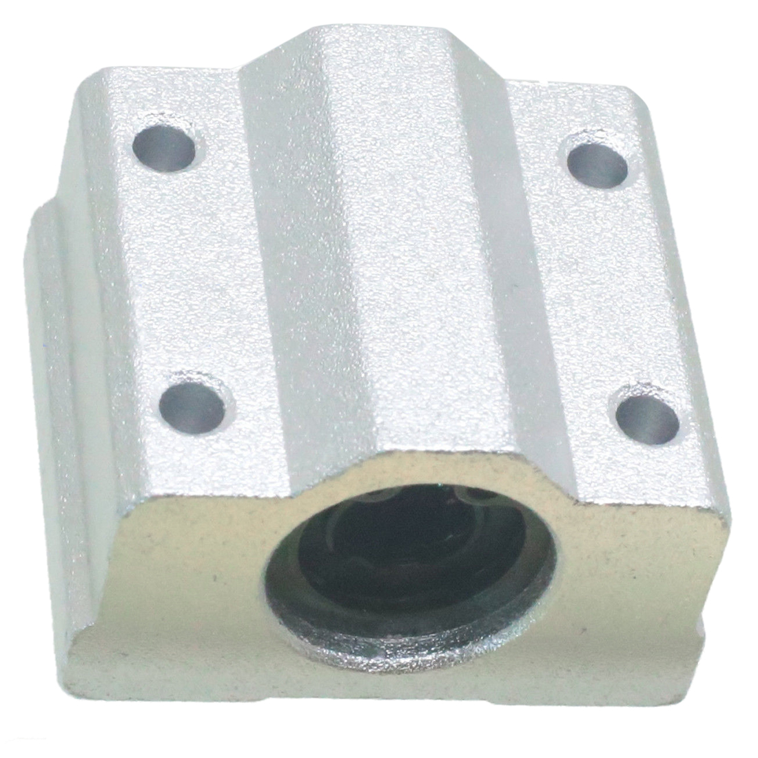 10mm CNC Flanged Shaft Support Block Supporter Linear Motion Shaft Mounting
