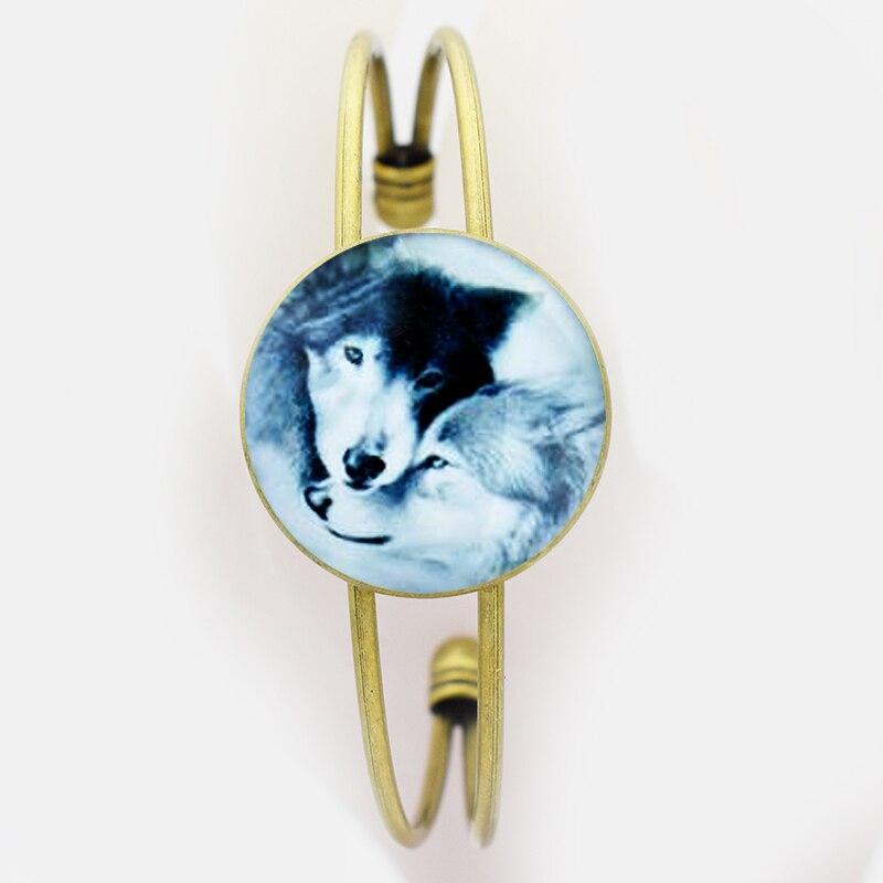 size 40 19953 8e286 Doppia Close Lupo Logo Braccialetto, Wristband Disegno ...