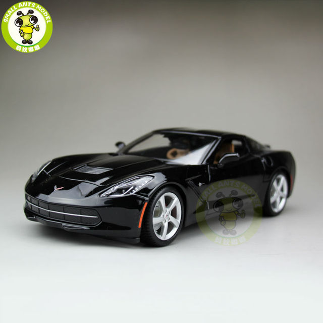 1/18 Chevrolet Corvette C7 Stingray Z51 Diecast Car Model Maisto 31182 Black