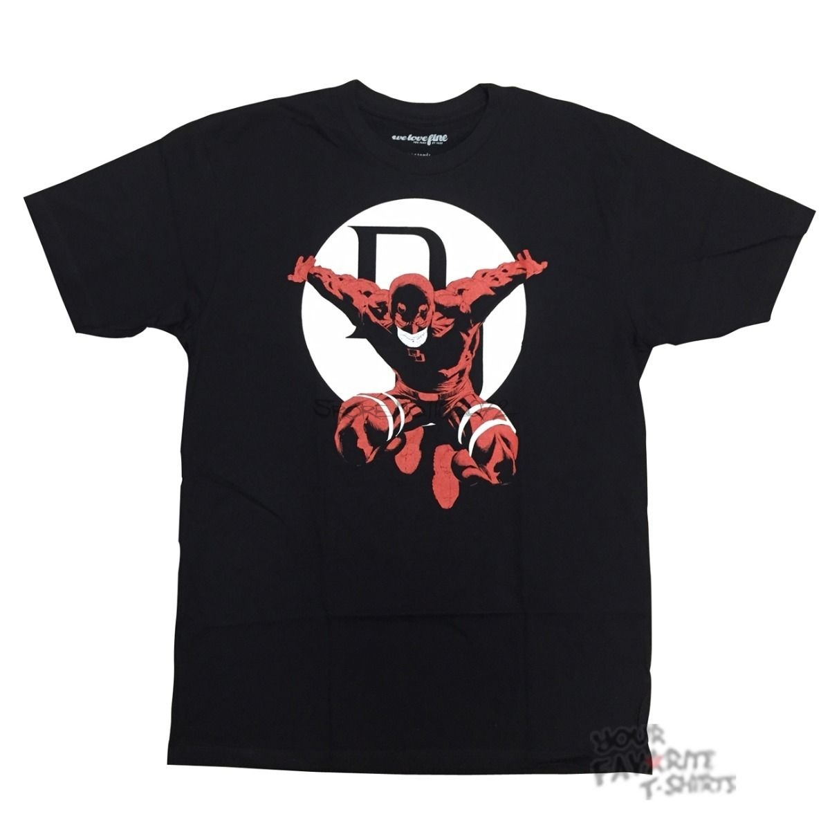 Daredevil Fear Nothing Marvel Comics Licensed Adult Shirt S-3XL