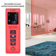 Cheapest prices 40M/60M Portable Size Handheld Digital Laser Distance Meter Electronic Distance Measure Tool Range Finder Drop Ship New Version