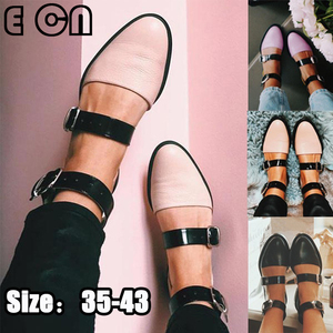 PU Leather Sandals Fashion Rou