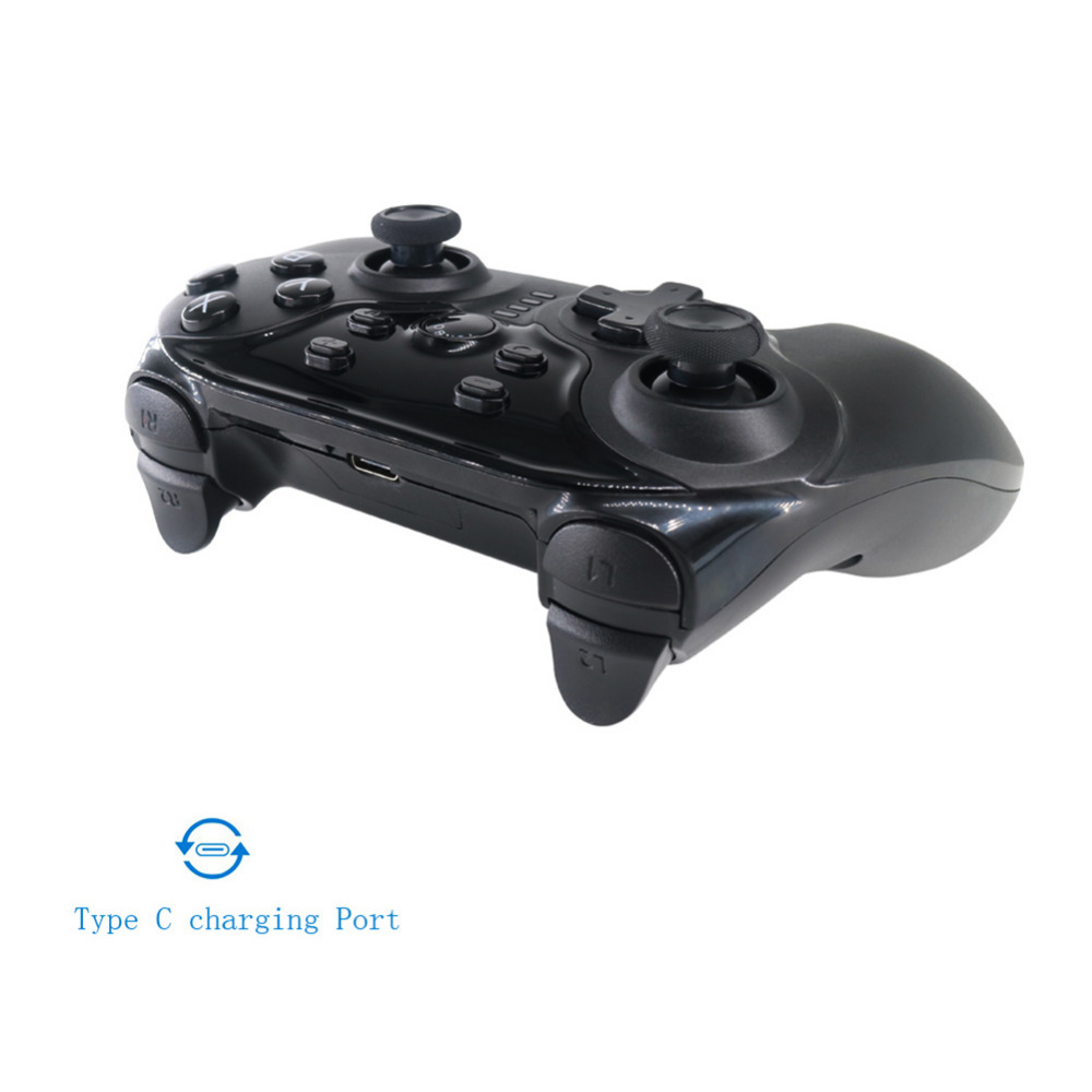 VODOOL Wireless Bluetooth Gamepad Bluetooth Joystick Gaming Controller for Nintendo Switch PC with Type-C Charging