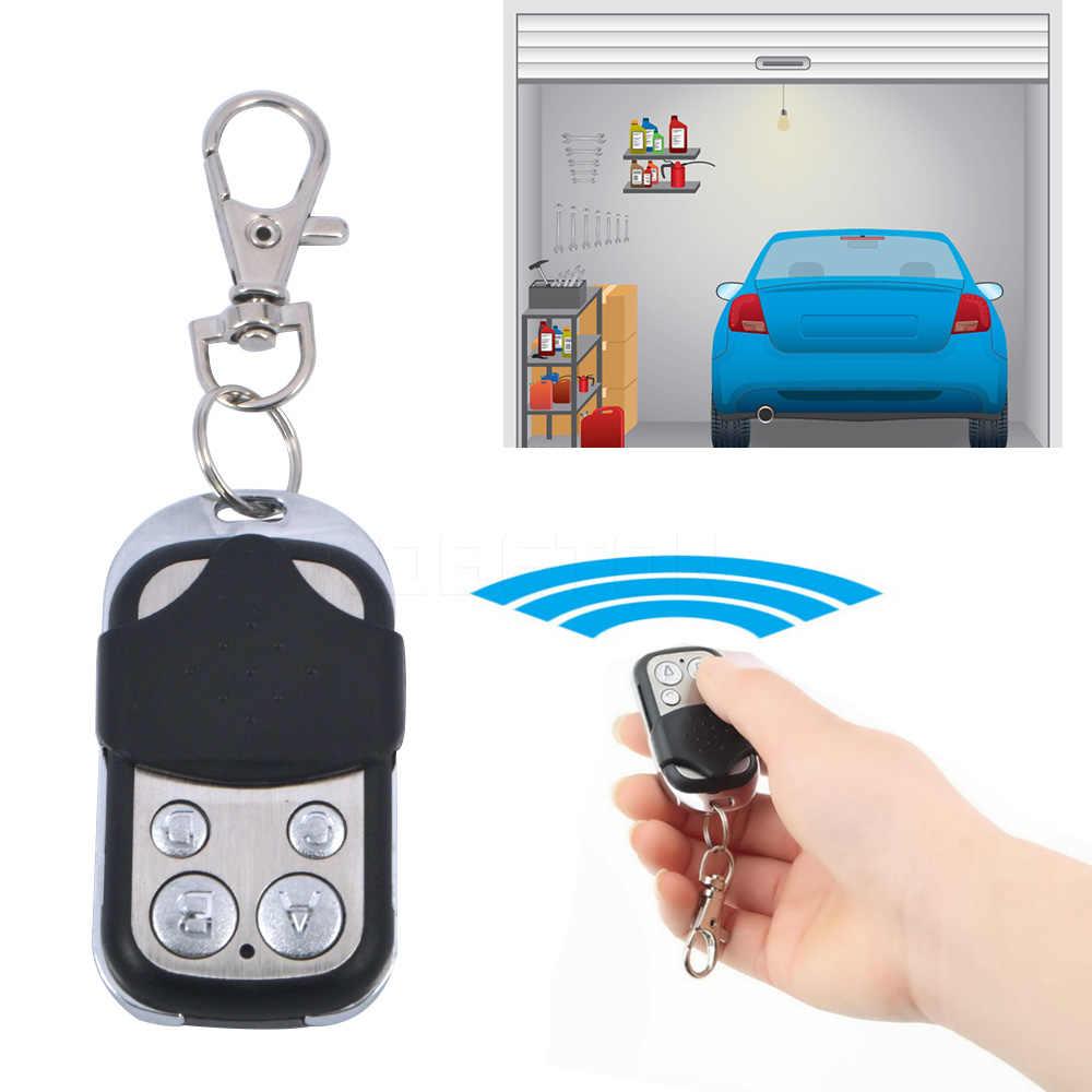 kebidumei 12V 27A 4 Channel Wireless 433MHZ Cloning Clone Copy Code RF Remote Control Car Keyless Entry