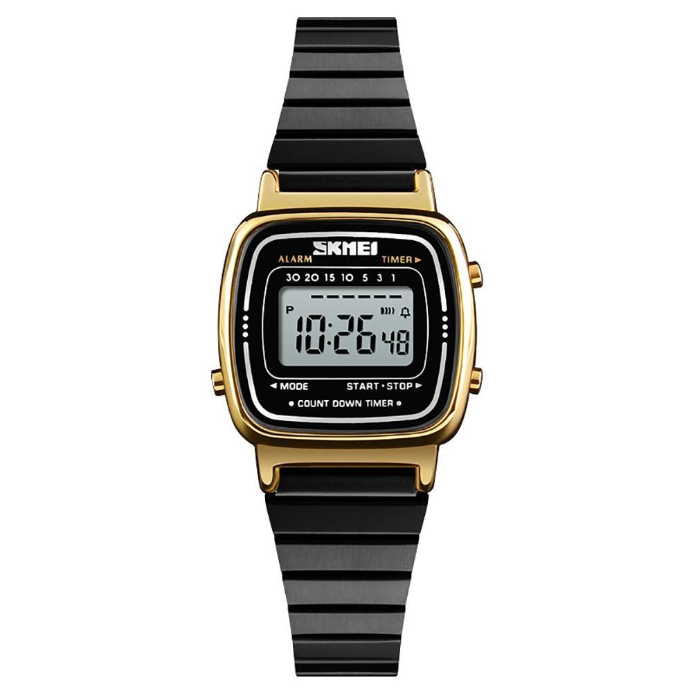 Fashion Women Digital Countdown Alarm Luminous Waterproof Business Wrist Watches  Reloj mujerFashion Women Digital Countdown Alarm Luminous Waterproof Business Wrist Watches  Reloj mujer