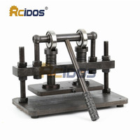 26x12cm Double Wheel Hand leather cutting machine,RCIDOS photo paper,PVC/EVA sheet mold cutter,leather Die cutting machine