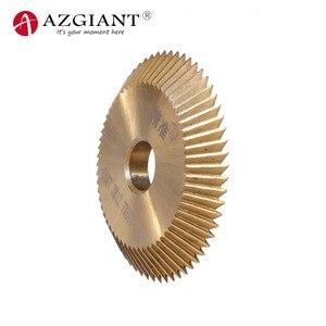 Image 3 - P252 60*7.3*12.7mm כרסום קאטר להב עבור וון Xing מפתח חיתוך להב מסגר כלים מסור עגול להבים