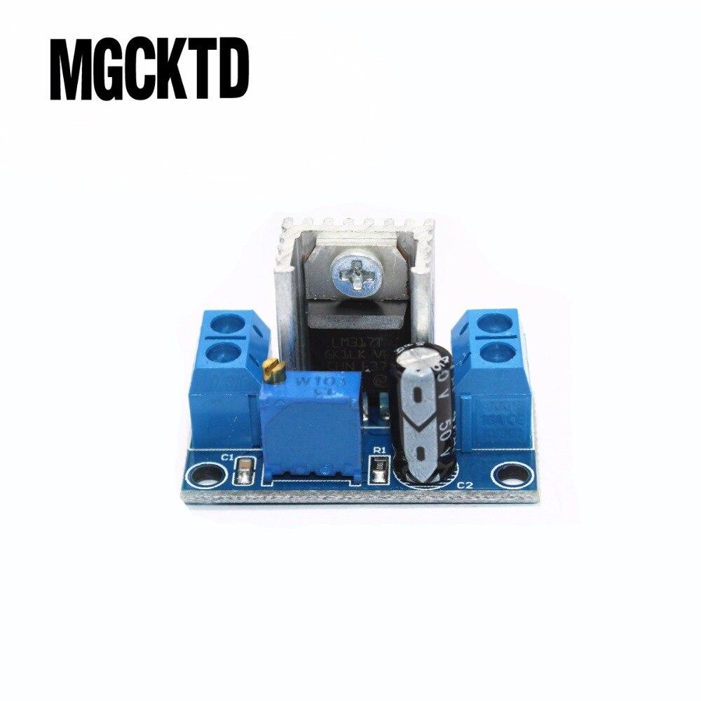 LM317 DC-DC Wandler Buck Step Down Platine Linearen Regler LM317 Einstellbare Spannungsregler Power Supply