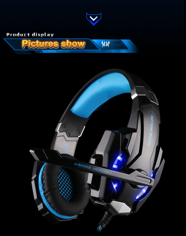 USB 7.1 Surround Sound Version Game Gaming Headphone 9