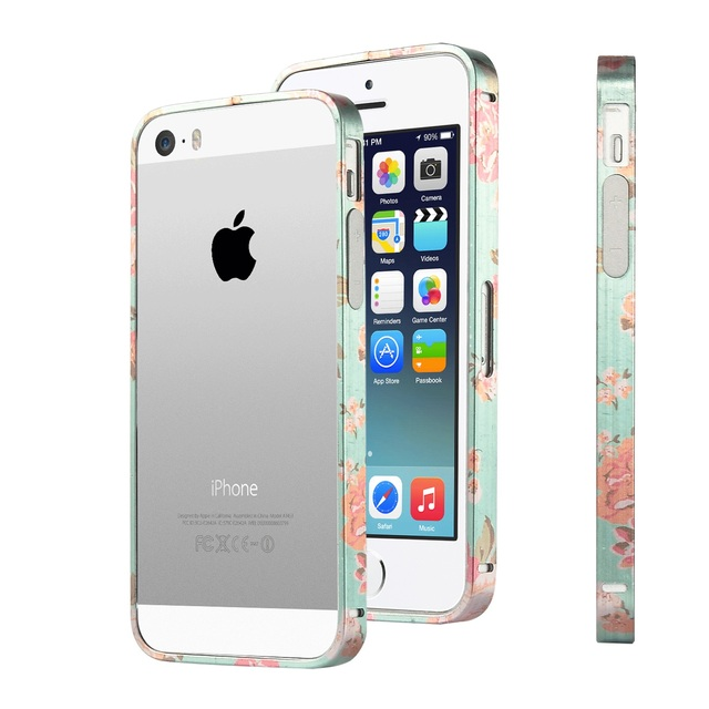 outlet store 9a82a c2093 US $7.99 |ULAK Metallic Frame Case Cover for Apple iPhone 5 5S with Side  Protection Arc and Slim Metal Frame Case on Aliexpress.com | Alibaba Group