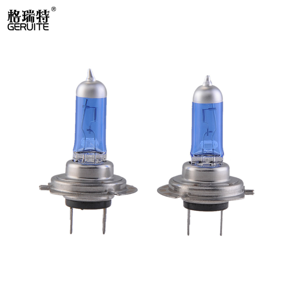 2pcs H7 12V 100W 6000K Super White Auto Car HOD Xenon