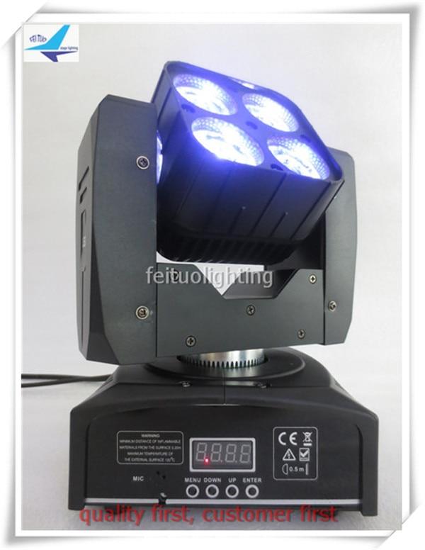 A-(6pcs/lot) 4x15w rgbw 4 in 1 matrix moving head led beam light disco dj moving head 4x15w