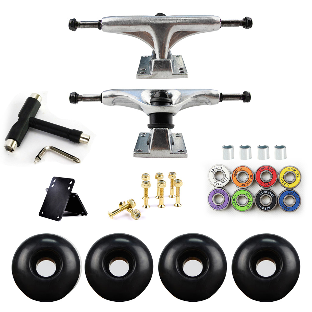 5in Skateboard Trucks Combo Set 5230mm Wielen Aluminium - Rolschaatsen, skateboards en scooters - Foto 3