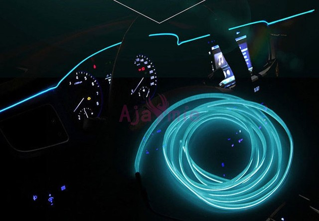 Merveilleux 2 Meters Car Interior Decoration LED Strips Moulding Luminous Trims  Dashboard Door Edge Cold Light Wire