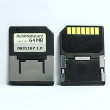 Promotion!!! 10 pcs/lot 7PIN 32 mo 64 mo MMC carte multimédia Mobile carte mémoire RS MMC