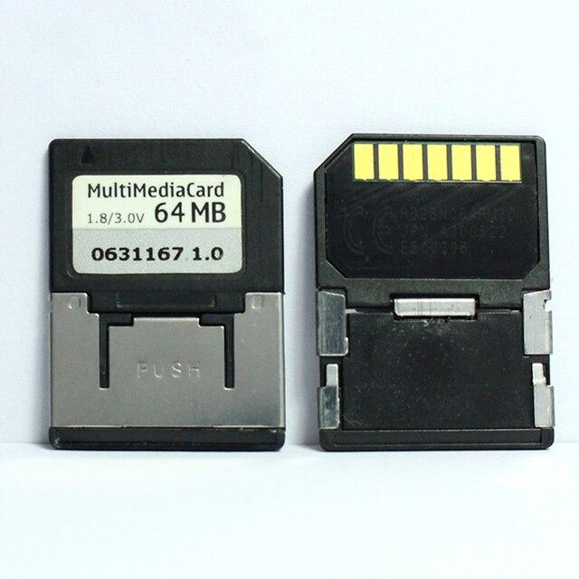 Promotion!!! 10 pcs/lot 7PIN 32 mo 64 mo MMC carte multimédia Mobile carte mémoire RS MMC