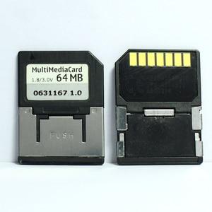Image 1 - Promotion!!! 10pcs/lot 7PIN 32MB 64MB MMC Mobile Multimedia Card RS MMC Memory Card
