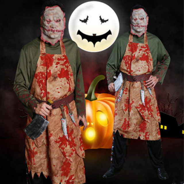 zombie costume for men halloween costumes for men zombie clothing scary chef cosplay costumes terrible costumes & zombie costume for men halloween costumes for men zombie clothing ...