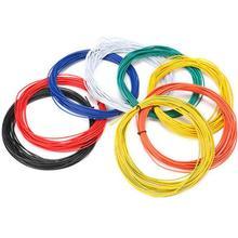 10 метров UL 1007 18/20/22/24/26AWG короб для прокладки кабеля из ПВХ электронный кабель изолированный светодиодный кабель набор «сделай сам» для подключения 8 расцветок резистор
