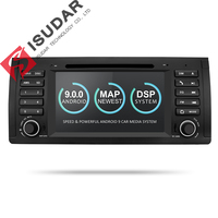 Isudar Car Multimedia player Android 9 GPS One Din DVD Player For BMW E39 5 Series M5 2GB RAM 16GB ROM Wifi Radio Mirror Link