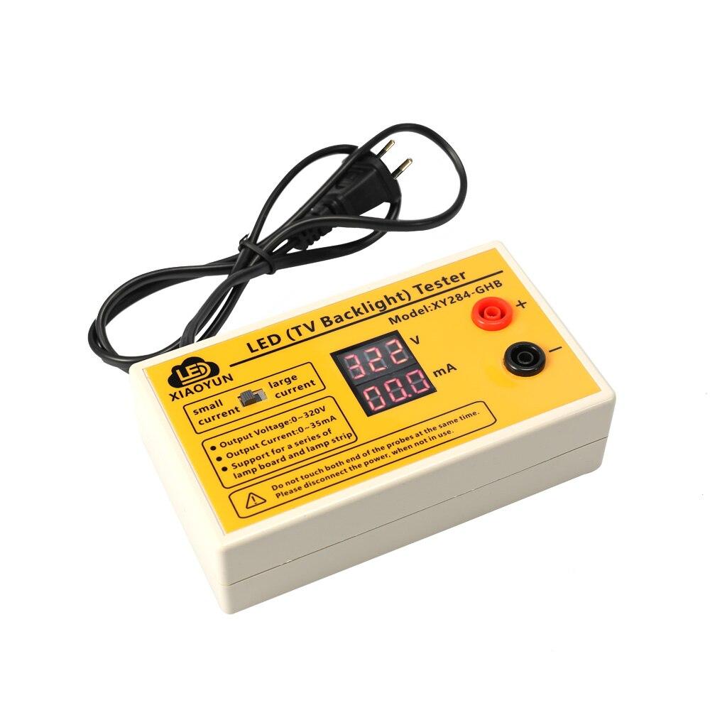 0-320 В Выход постепенно яркие Светодиодные ленты Тесты инструмент светодиодный светильник обслуживания детектор ЖК-дисплей Подсветка Тесты…