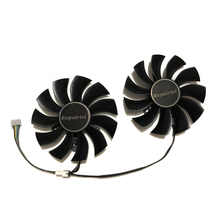 2 Pcs/set 4Pin 85MM GTX 980Ti 950 GPU VGA Cooler Graphics Card Fan For EVGA GTX980TI GTX950 ACX2.0 Video Cards Cooling System new original for msi gtx980 980ti graphics card cooler fan with heat sink