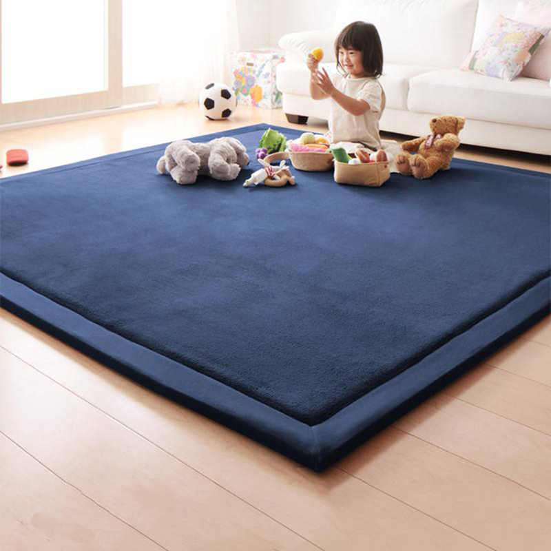 Honlaker татами в японском стиле ковер 180*200*2 см роскошный большой коврики для гостиной, детские коврики для спальни