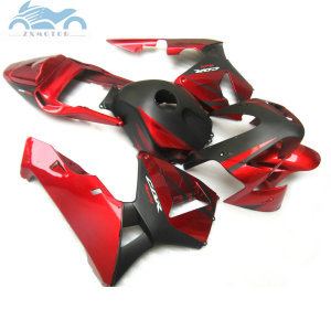 Image 4 - ABS plastic Injection fairing kit fit for Honda CBR600RR 03 04 CBR 600 RR 2003 2004 aftermarket  fairing kits red black NY04