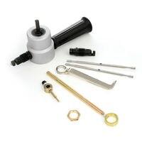 High Carbon Steel 7pcs Double Head Cutter Sheet Metal Nibbler Cutter Power Drill Attachment