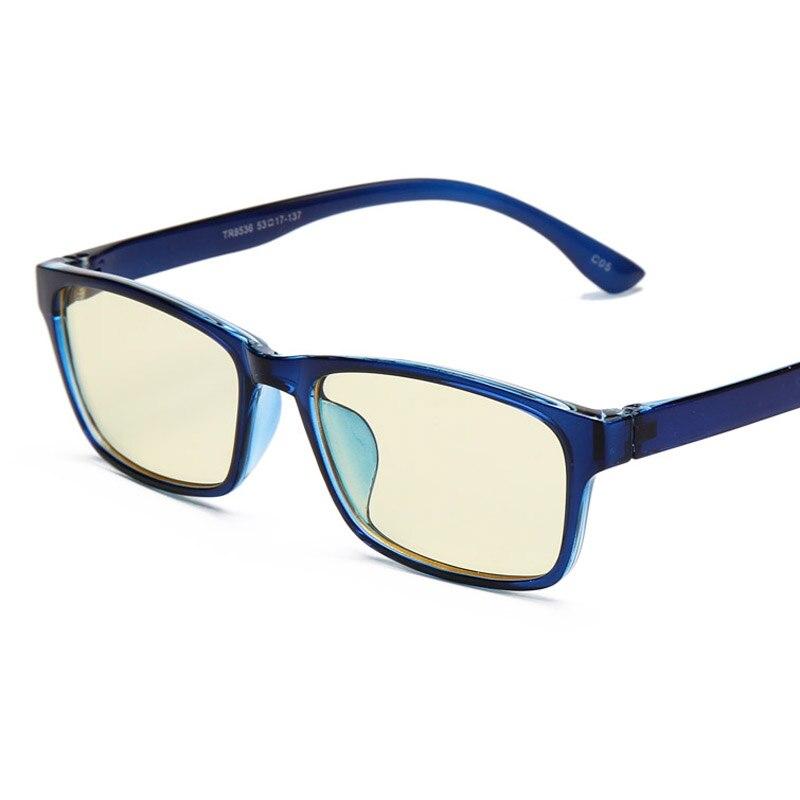 5fac6aff3cbb0 Diseñador antideslumbrante azul rayos ojo Gafas espectáculo Marco Ordenador  Gafas marco para hombres mujeres ultraligero moda oculos de Grau