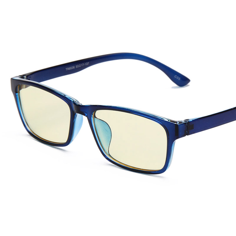 Ladies Blue Frame Glasses : Aliexpress.com : Buy designer Anti Glare Blue Rays ...