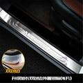 4 шт. нержавеющая сталь Накладка/порог дверь педаль подоконника bienvenidos для Suzuki S-CROSS 2013-2018 автомобильный Стайлинг
