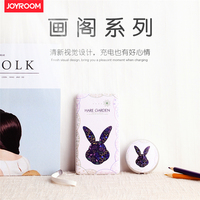 Joyroom 10000mAh power bank Portable Polymer battery Art fresh painting bateria externa For Mobile Phone For iPhone Samsung