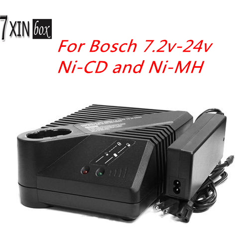 2607224428  Ni-Cd Ni-Mh Replacement Battery Charger for Bosch 7.2Volts to 24volts Ni-Cad Ni-Mh Power Tool Batteries