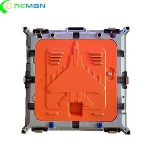 Image 4 - הזול ביותר מחיר ריק led תצוגת קבינט 640mm x 640mm, למות הליהוק אלומיניום led קבינט עבור p5 p10 led מודול 320x160mm