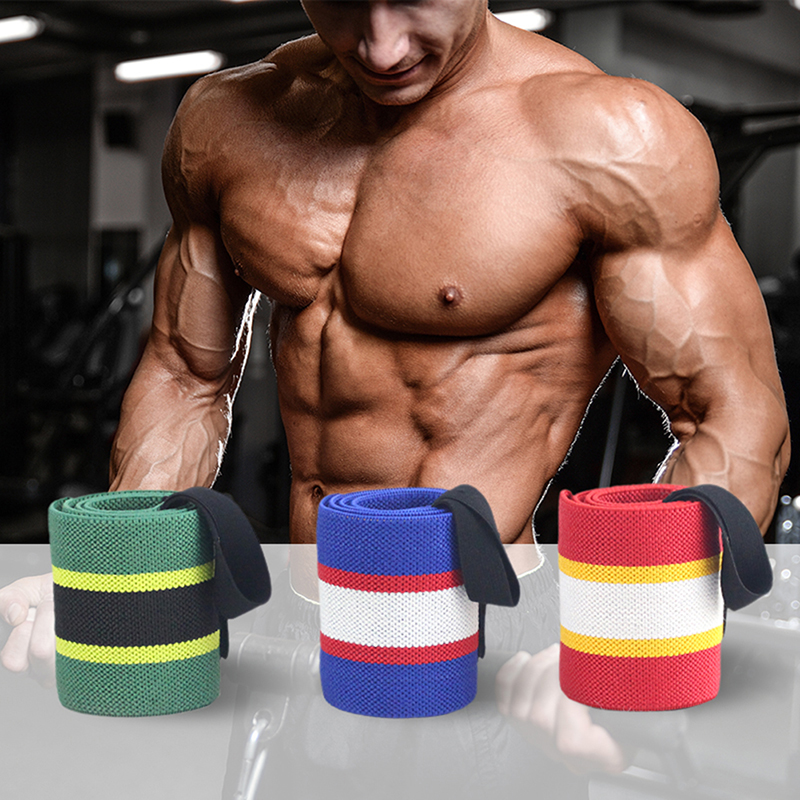 Outdoor Sports Wristband Weight Lifting Wrist Sleeve Support With Gym Winding Wristband Fitness Equipment