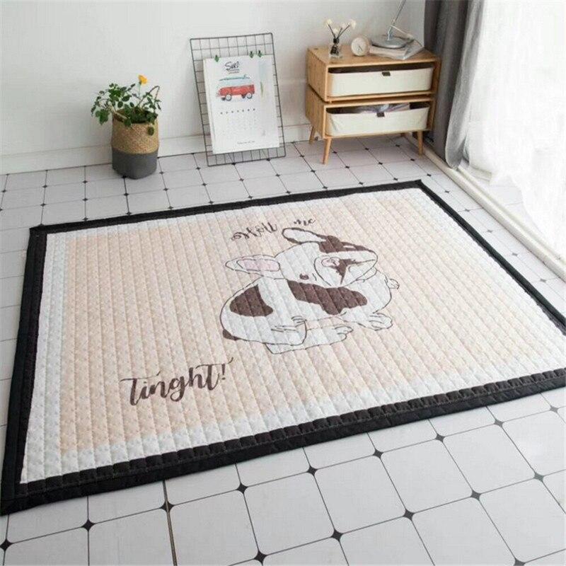 Maison floormat couverture garçons filles jeu tapis bébé enfant playmat chiens imprimer exclusif tapis 1.5 cm pique-nique tapis lit tapis cartoon - 5