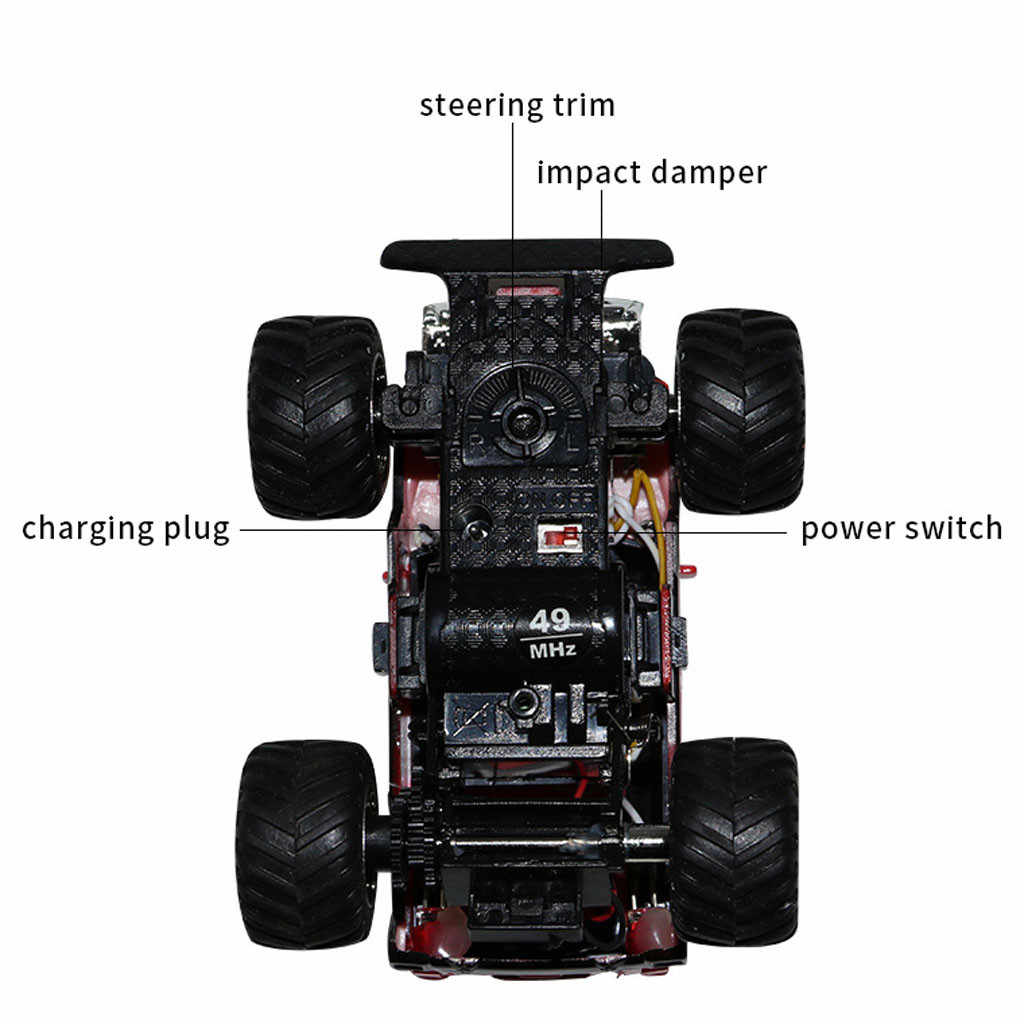 HIINST 1/58 Children Control Remote Cars Rechargeable Racing Mini Off-road Vehicle Baby Car Model Toys For Boys Holiday Gifts