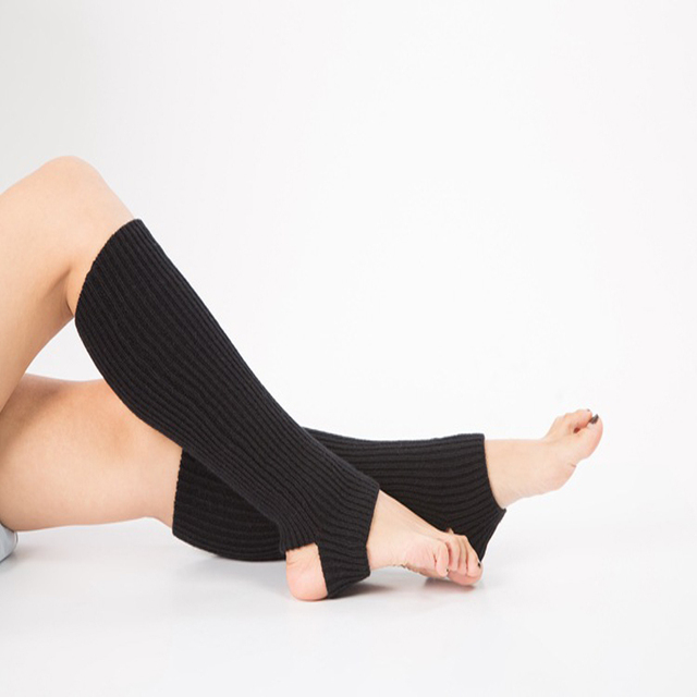Calcetines de Yoga térmicos calentadores de pierna de punto ...