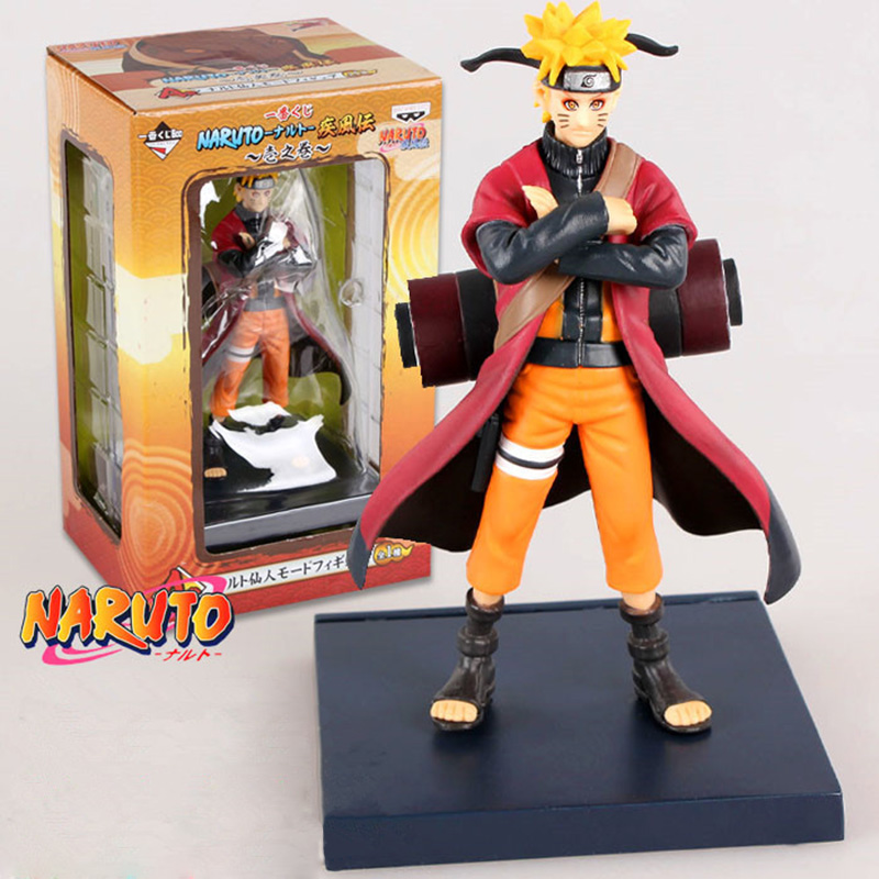 Anime Naruto Figure 16cm Uzumaki Naruto Manpower Mode PVC Action Figures Toys Collectible Model Toy Christmas Gifts With Box to love ru darkness action figure eve sexy swimsuit cartoon children gifts pvc action figure collectible model toy 23cm kt3201