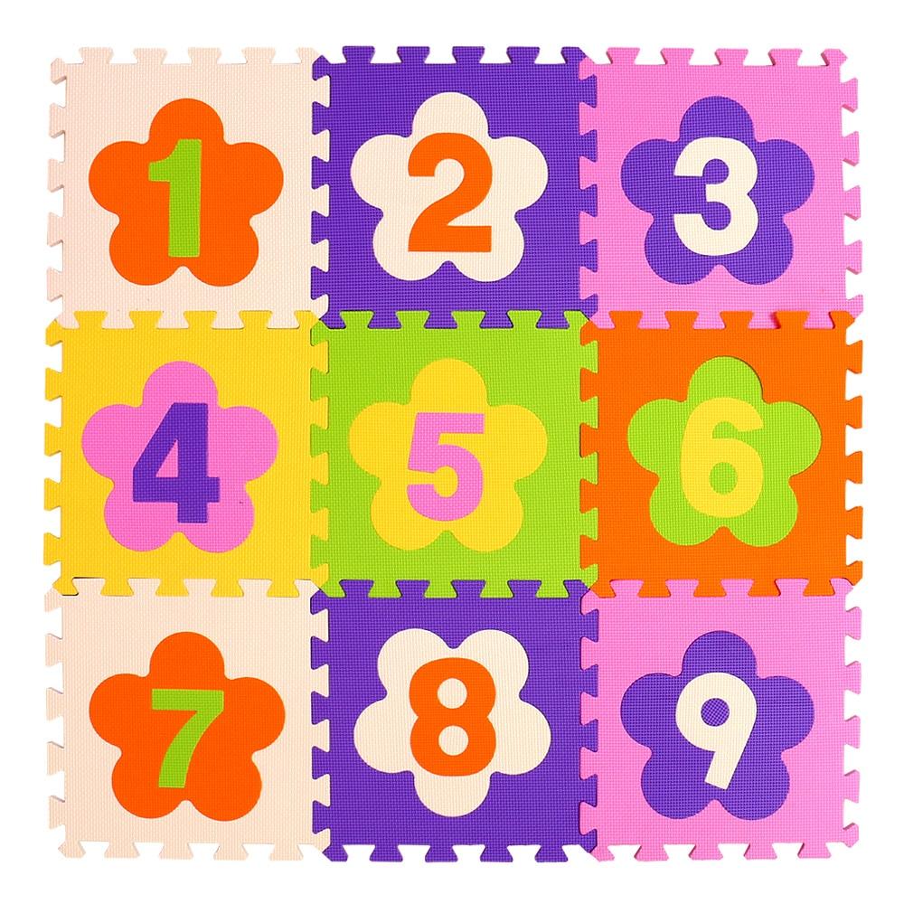 HTB1s5OfsqSWBuNjSsrbq6y0mVXa8 mei qi cool 9pcs/set baby play EVA foam puzzle mat /Cartoon EVA foam pad / Interlocking Mats for kids playmat