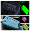 High Quality For VW Volkswagen Golf 7 MK7 Golf7 Skoda Octavia A7 Key Case GTI 2013 2014 New Silicone Key Cover Protective Bag